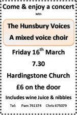 Concert - Hunsbury Voices - Hardingstone Church